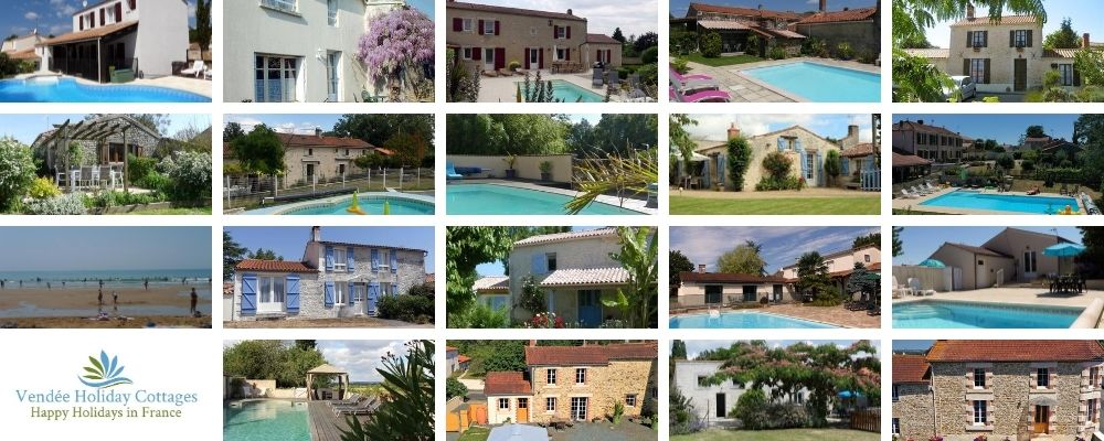 Holiday Cottages in the Vendee